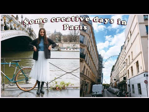 creative days in my life in PARIS, France 🎨 | Life in Paris VLOG