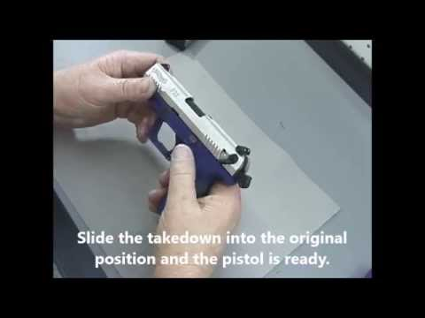 Walther P22 Take Down and Re-assembly - Field Strip