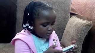 Two Year old Jojo goes Kookoo! [ElaniMuzikiTV]