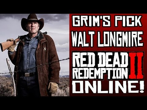How To Make Walt Longmire's Outfit In Red Dead Online!