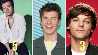 Top 5 Best Male Pop Singers of Hollywood 2020