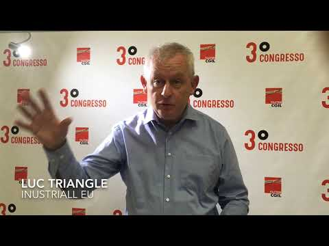 3° Congresso nazionale Filctem Cgil - Luc Triangle (IndustriAll EU)