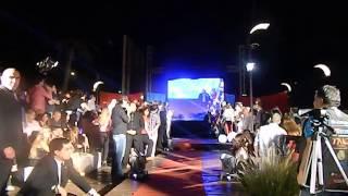 Fiesta revista paparazzi en ribera-  desfile modelos Byv