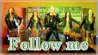 D.White - Follow me (Concert Street video) NEW Italo Disco, Best Super music, Modern Talking style