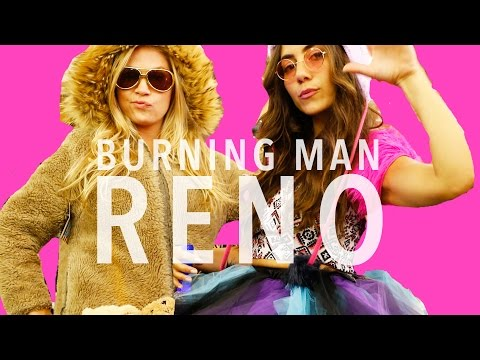 Burning Man in Reno, Nevada