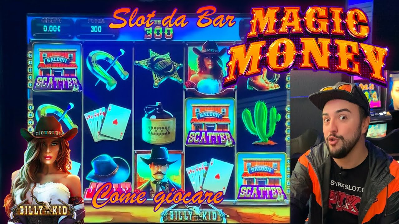 SLOT MACHINE da BAR - Come giocare alla MAGIC MONEY? (Multigioco Cristaltec)