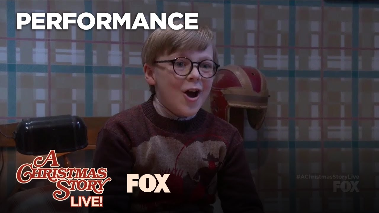 A Christmas Story Characters.It All Comes Down To Christmas Performance A Christmas Story Live