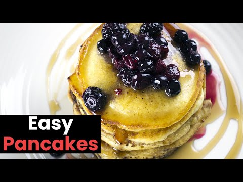 Quick & Easy Pancakes: A Simple Easy Pancake Recipe