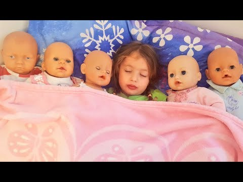 Сrying ba doll Are you sleeping song Nursery Rhymes Songs for Kids Pretend play for ba Toys