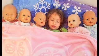 Are you sleeping brother John Song Dominika play with doll