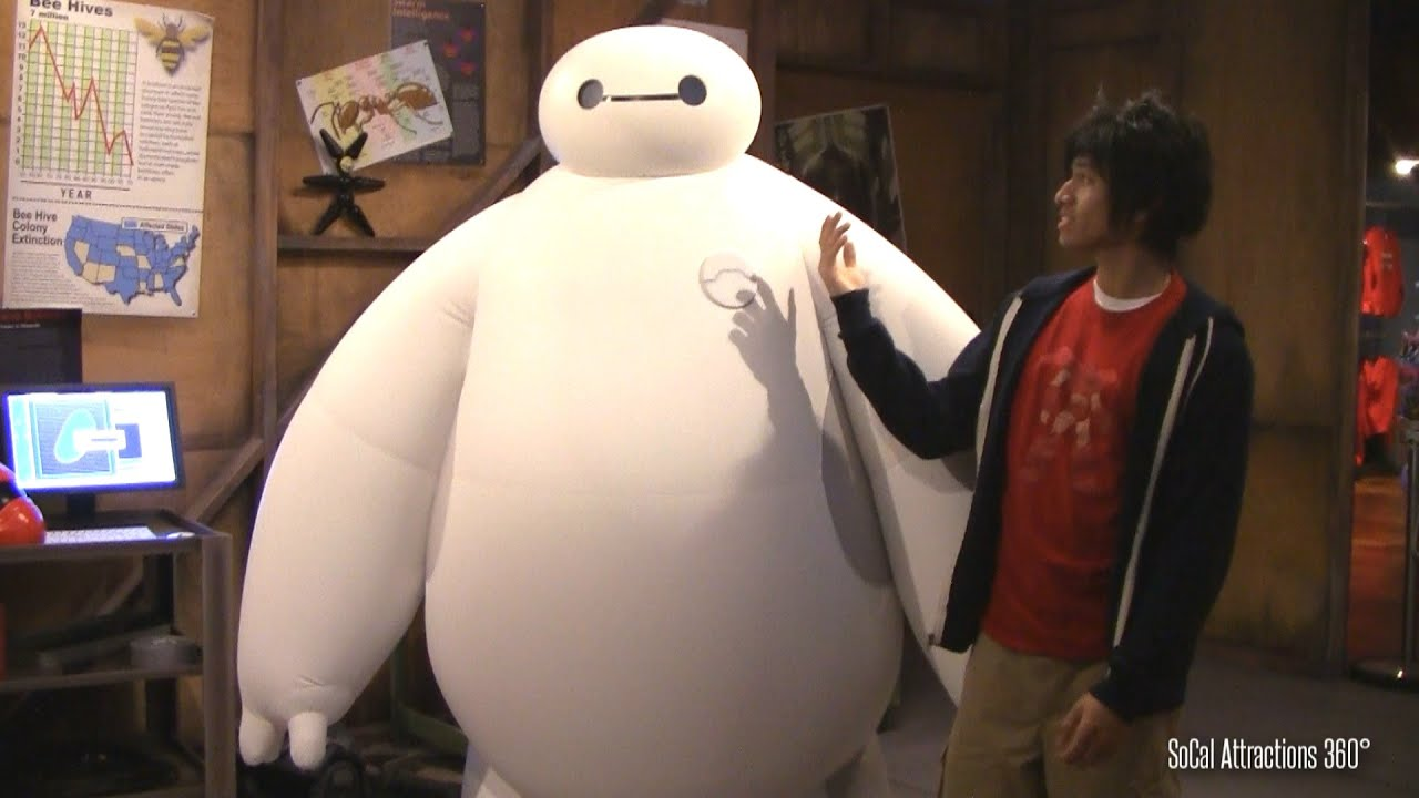 baymax meet and greet disneyland rides