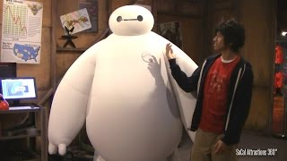 [HD] Big Hero 6 Meet & Greet - Real life Baymax and Hiro - Disneyland