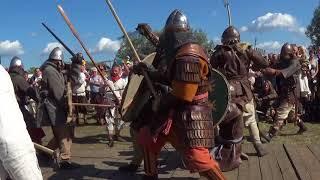 Wolin - Festival of Slavs and Vikings 2017 avec les Berserkr