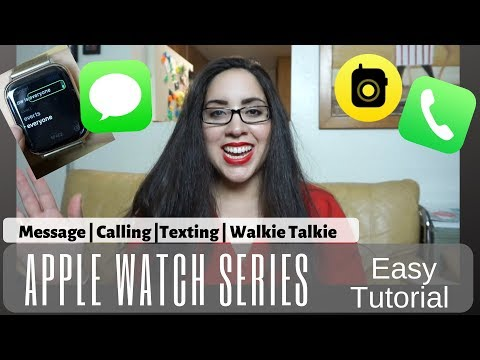 Apple Watch Series 4 | Messaging Texting Calling And More! #applewatch