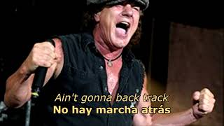 Badlands (Español/Inglés) - AC/DC