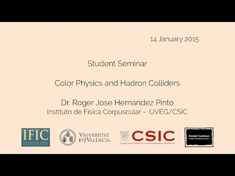 Roger Hernández-Pinto: Color Physics and Hadron Colliders