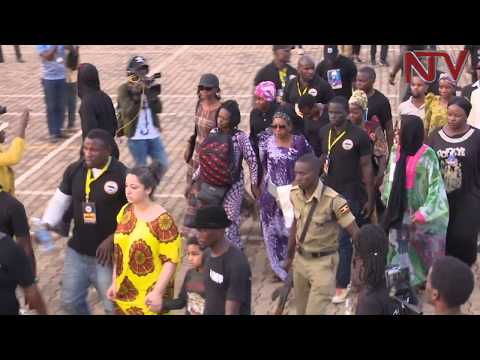 Fans converge at Kololo independence grounds to say goodbye to Mowzey Radio