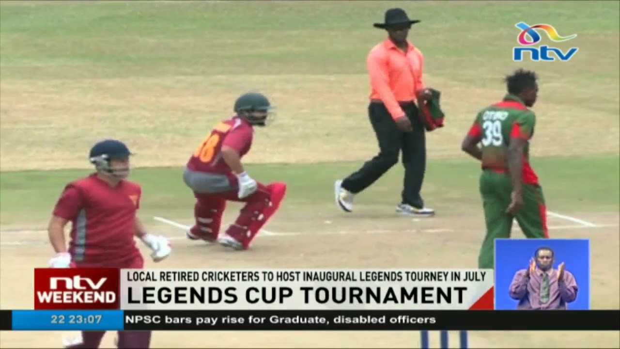 Retired Kenya cricket players to participate in Legends Tournament