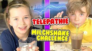 Twin Telepathy Milchshake Challenge 🥛 Lulu & Leon