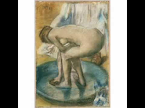 Degas, Woman Bathing in a Shallow Tub, 1885 - YouTube