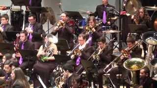 La Mosca - The Fly - Óscar Navarro - Suite Bestiarium - Banda Sinfónica Ciudad de Baeza - HD