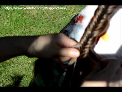 Camilla ThyThy-Đồng An: Tết tóc đuôi cá/Fishtail braid