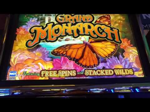 Live Play! Grand Monarch Slot Machine At Rivers Casino