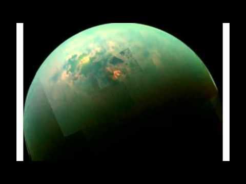 Amazing New Photo Shows Sunny Seas Sparkle On Saturns Moon Titan!