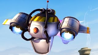 Plants vs. Zombies: Garden Warfare - Engineer New Abilities! (Rocket Drone and more!)
