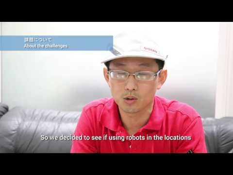 Collaborative robots (cobots) at Nissan Motor Company