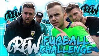 Die Ultimative CREW Crossbar Fußball Challenge 🔥🔥