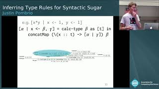 Inferring Type Rules for Syntactic Sugar