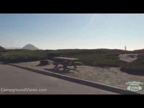 CampgroundViews.com - Morro Strand State Beach Morro Bay California CA Campground