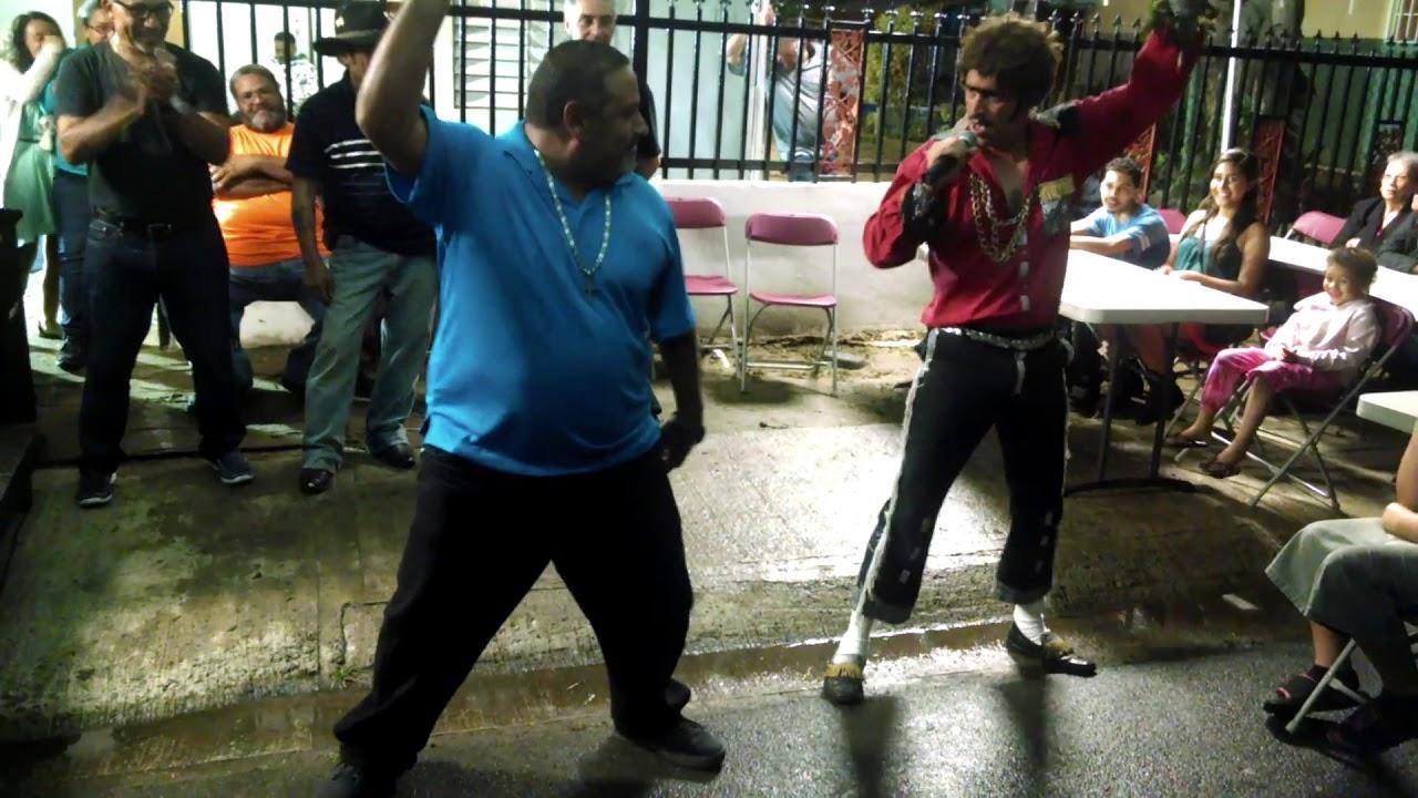 Melvin Comedia - EL BRAVO DEL SWING - Comedia en fiesta familiar 2012