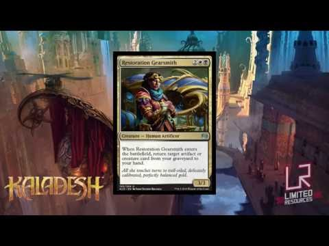 Limited Resources 355 – Kaladesh Set Review: Commons and Uncommons