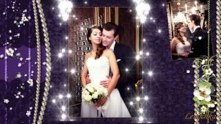˙·•●๑ღ♥ Фиолетовая свадьба.♥ღ๑●•·˙