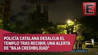 ÚLTIMA HORA: Acordonan templo de 'La Sagrada Familia' por operación antiterrorismo
