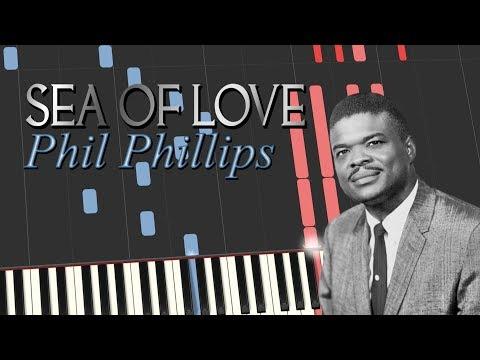 Phil Phillips - SEA OF LOVE (Piano Tutorial)