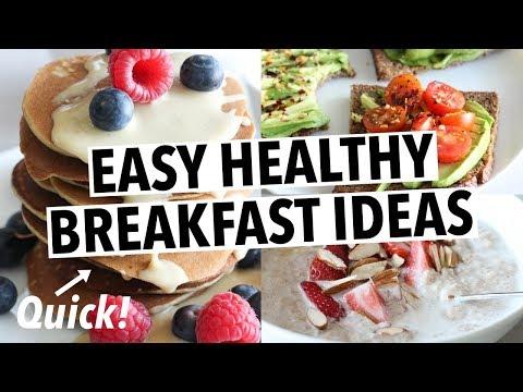EASY HEALTHY BREAKFAST IDEAS (+ quick pancakes)