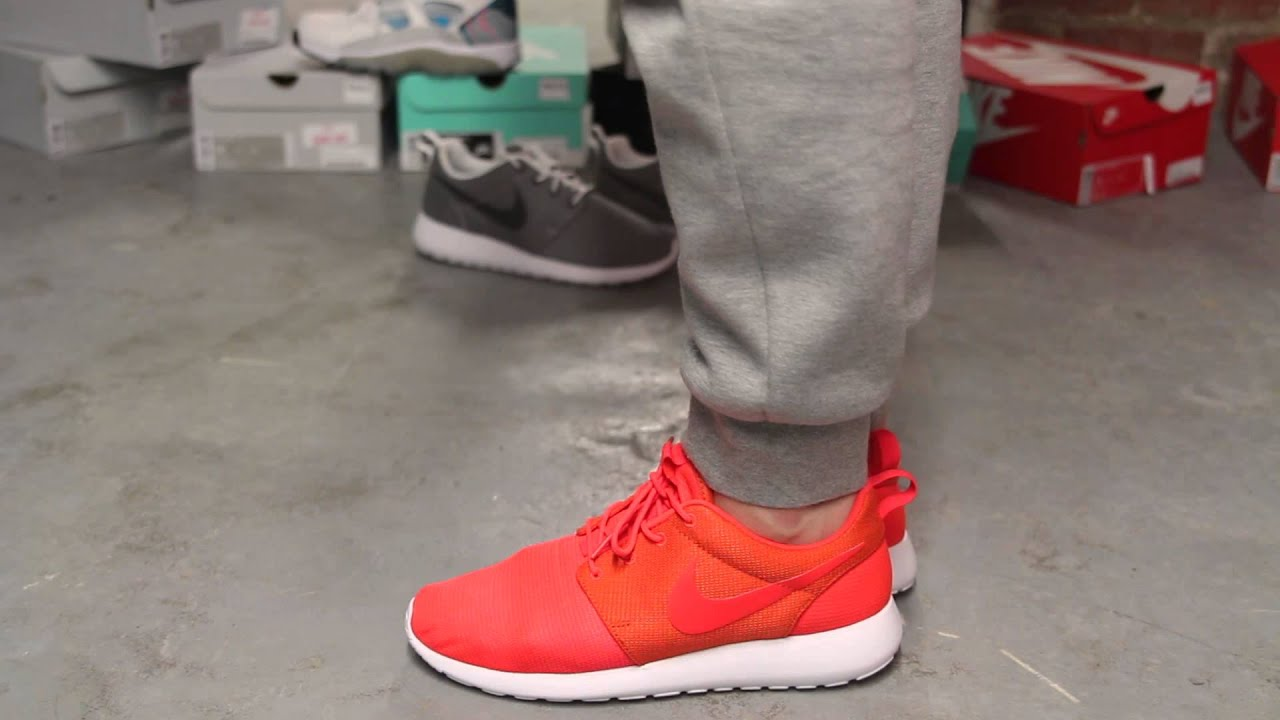 Nike Roshe One Bright Crimson / Team Orange / White / Bright Crimson