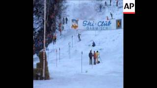SYND 6 1 75 WORLD CUP SKI SLALOM RACE WON BY ITALIANS