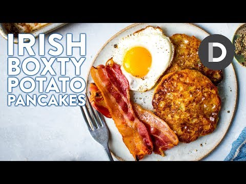 How to make... Irish POTATO PANCAKES | Breakfast BOXTY! 🍳