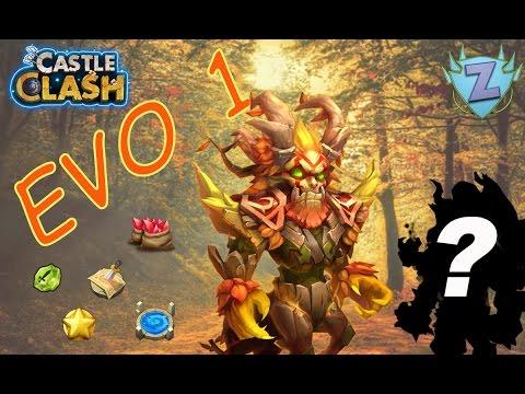 Castle Clash FR - Evolution 1 De Treantaur + Evo Surprise