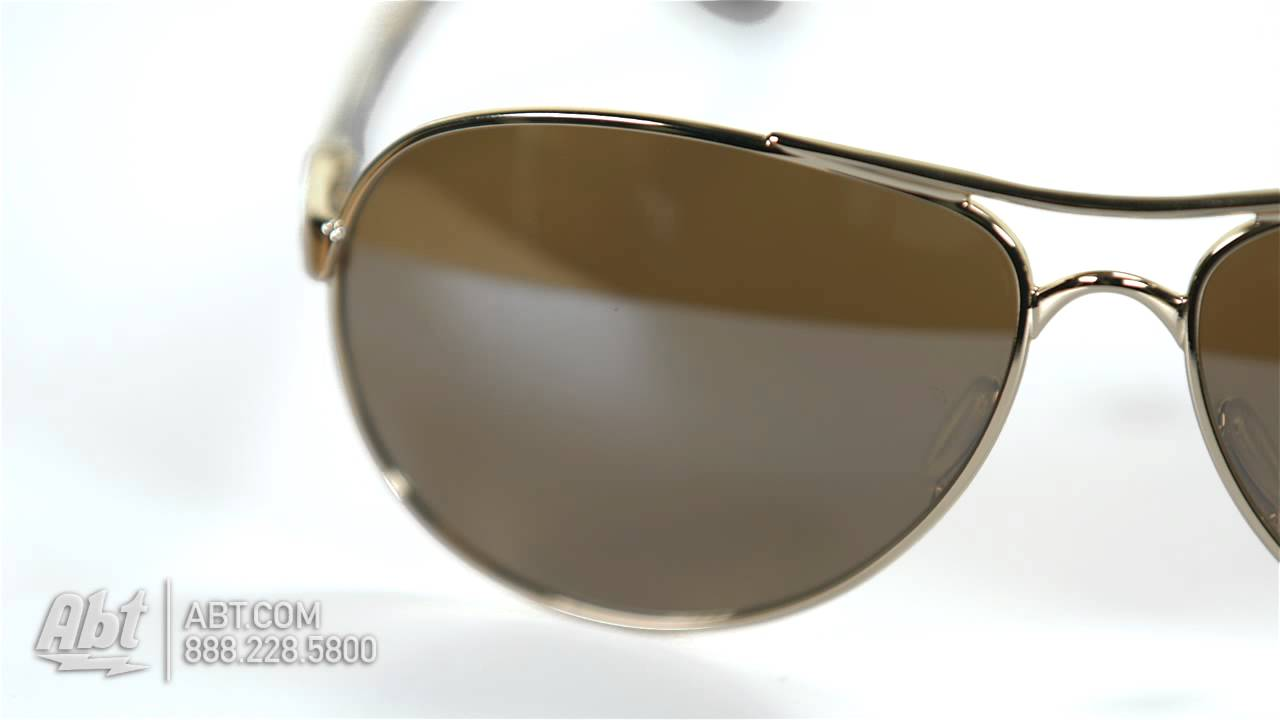 c1ef6f7ce4 Oakley Feedback Gold Womens Sunglasses OO4079-04 - Overview - YouTube