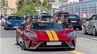 SHMEE en Ford GT / GMK en SENNA !! Carspotting  Monaco !!