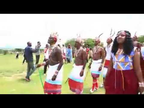 Amazing and very admirable Samburu contemporary wedding ceremony