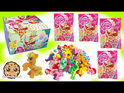 Full Box of 24 My Little Pony Surprise Blind Bags Wave 15 - Cookieswirlc MLP Toy Unboxing Video