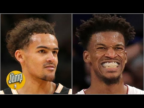 Reacting to Trae Young's Instagram post trash-talking Jimmy Butler after Hawks vs. Heat | The Jump