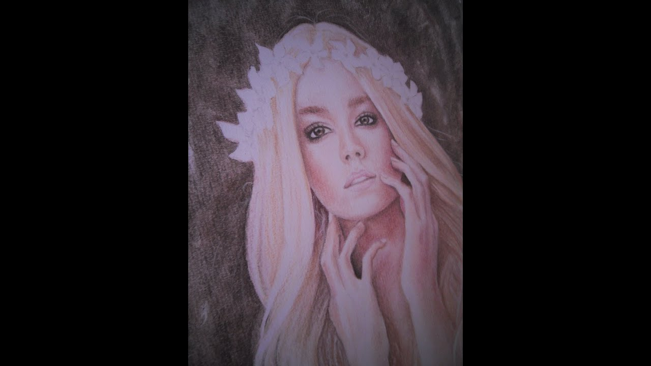 pastel pencil time lapse drawing youtube