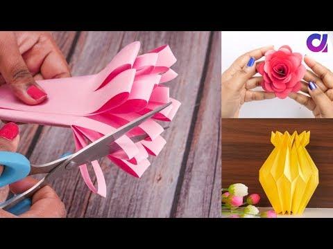 18 Genius Paper Craft Ideas TO Make In 5 Minutes | DIY ROOM DECOR | Artkala